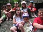 kids on rock, best bikers ever!